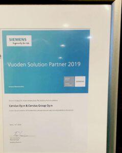Vuoden Siemens Partneri 2019