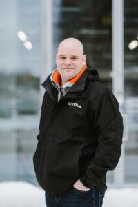 Jani Mikkola, Cerviuksen yksikönpäällikkö Turun toimipisteessä