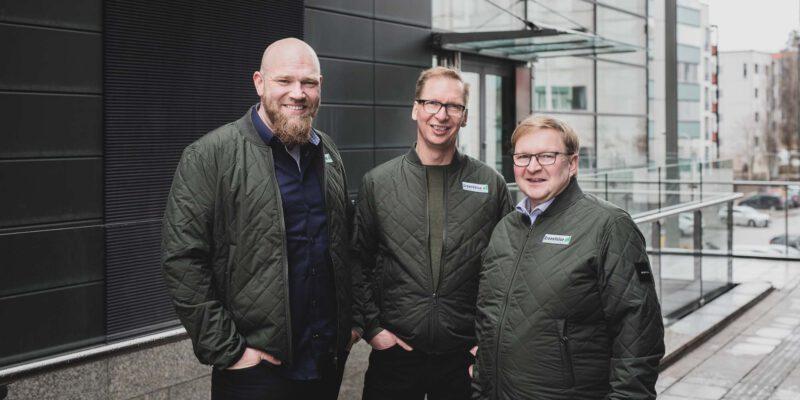 GreenValue - Petri Rantapaju, Tapio Ulvinen ja Jarmo Iisakka